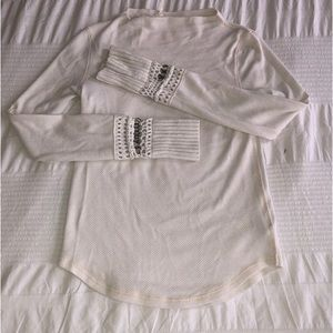 Free people long sleeve tee
